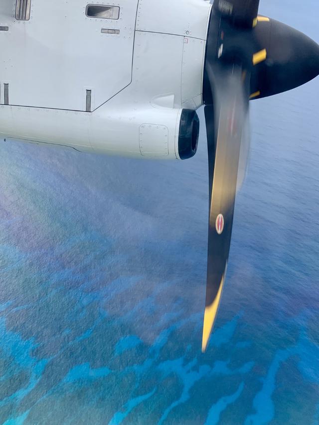 """画像2: プロペラ機で南の島を空中散歩。ジャルパックの「跳び飛びの旅」で""""空の旅""""がもっと好きになる"""