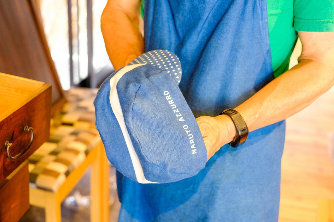 画像: サイクルキャップは縫製、染めまで一貫生産のオリジナル。