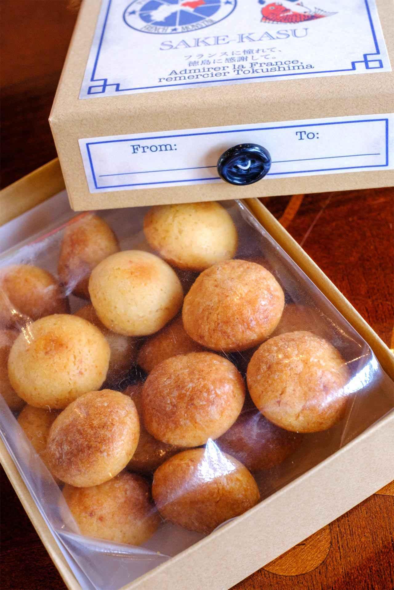 画像: 「NARUTO DAI2 BOUTON」は本家松浦酒造の酒粕とチーズを使ったコラボ商品。