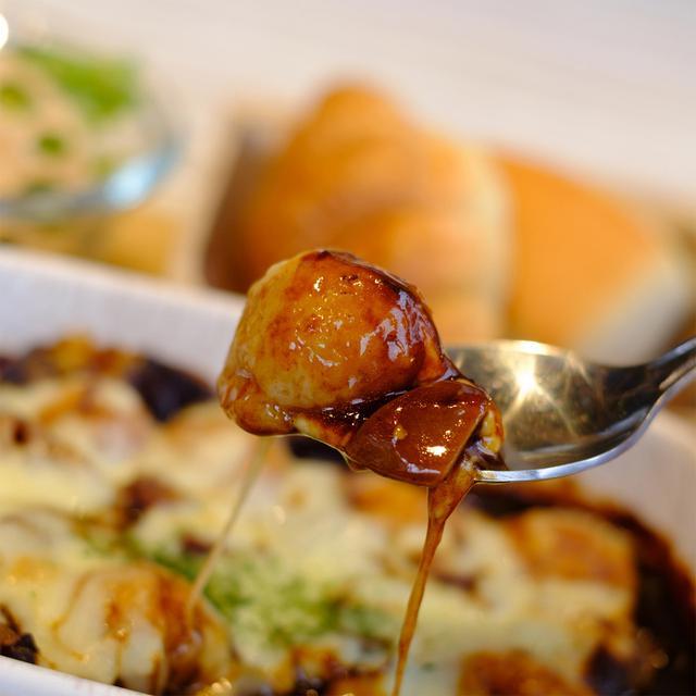 画像: すりおろしれんこんと米粉を使った「れんこん玉」。もちっとシャキッとした食感。