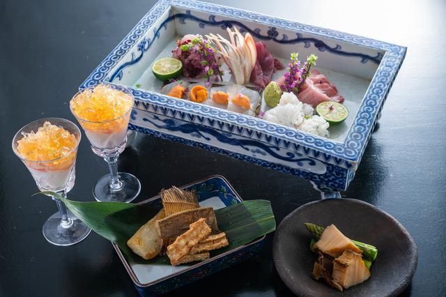 画像2: 「小粋料理 味 万惣」で楽しむ贅沢ランチ
