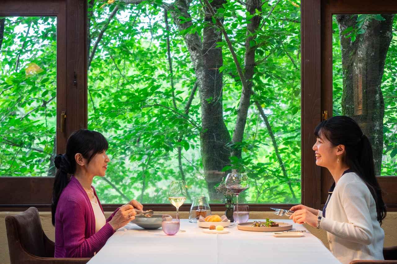 画像4: 「仏蘭西料理 La Terrasse」で古都を感じるフレンチディナー