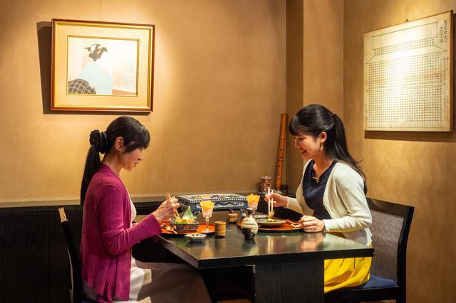 画像1: 「小粋料理 味 万惣」で楽しむ贅沢ランチ