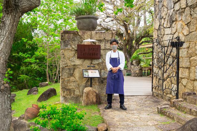 画像1: 「仏蘭西料理 La Terrasse」で古都を感じるフレンチディナー