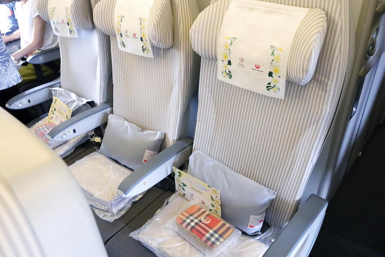 画像2: 離陸後の青空のなかでいただく、ハワイ路線の機内食
