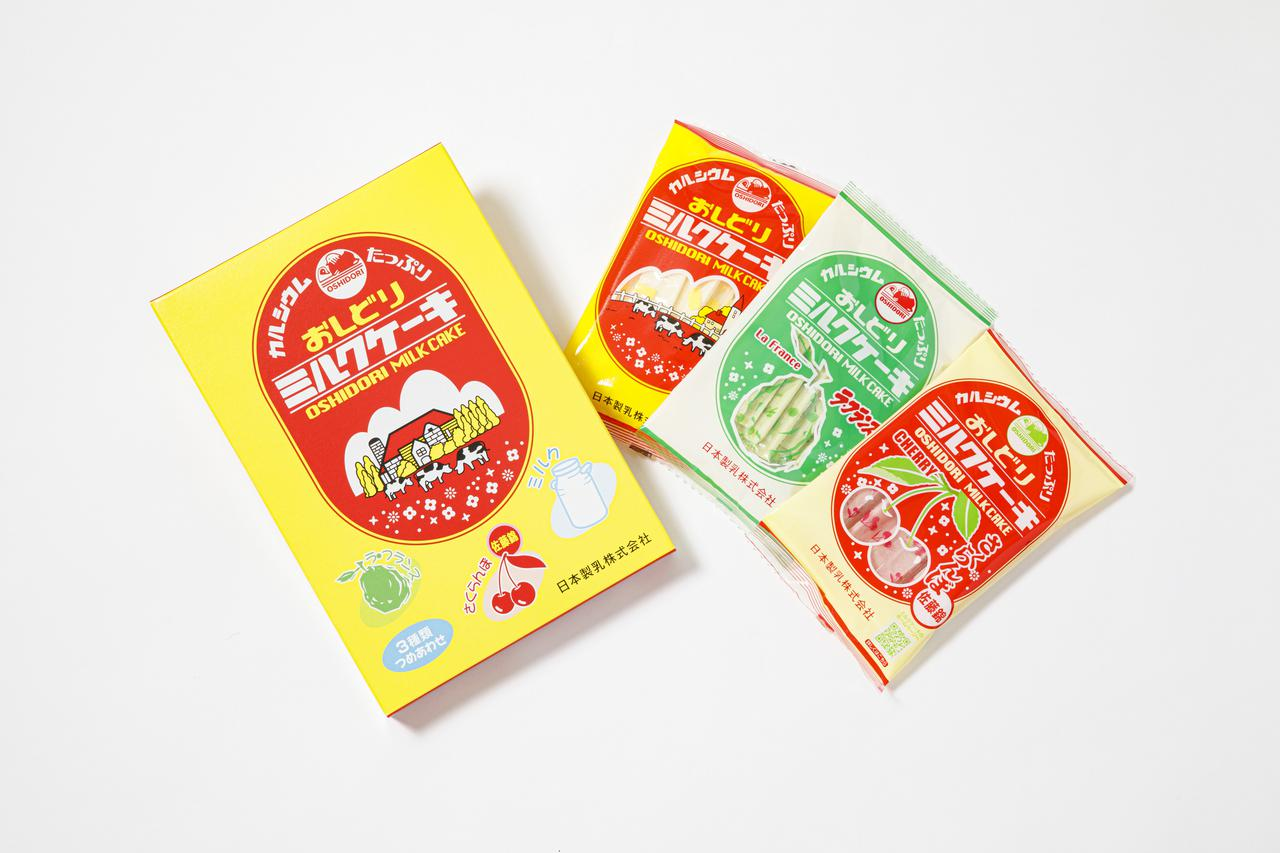 画像: 3種詰め合わせ24本入 650円(税込)/販売元:日本製乳株式会社
