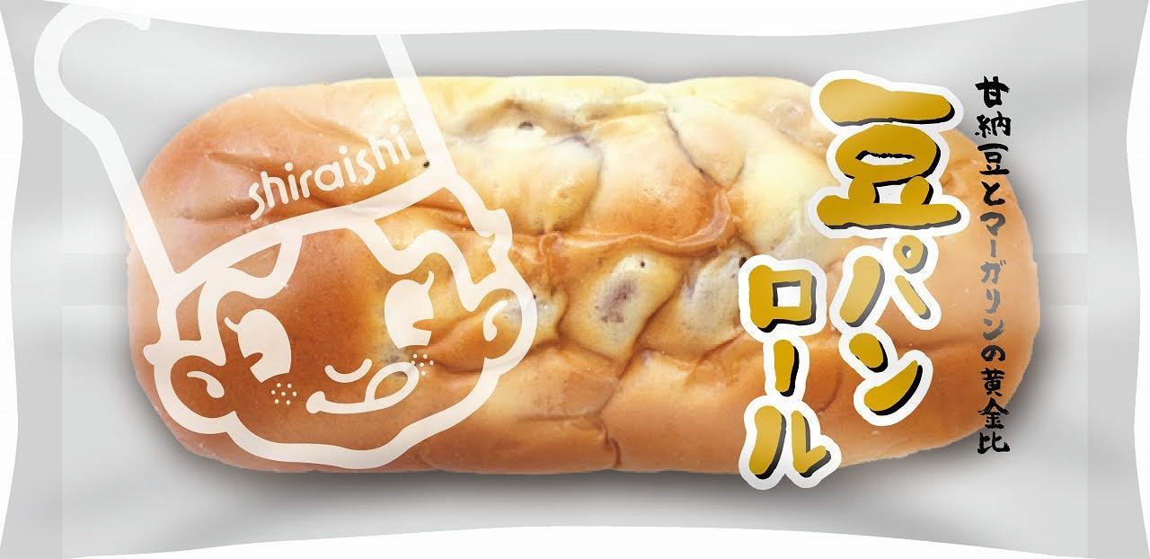 画像: 「豆パンロール」135円(税込)