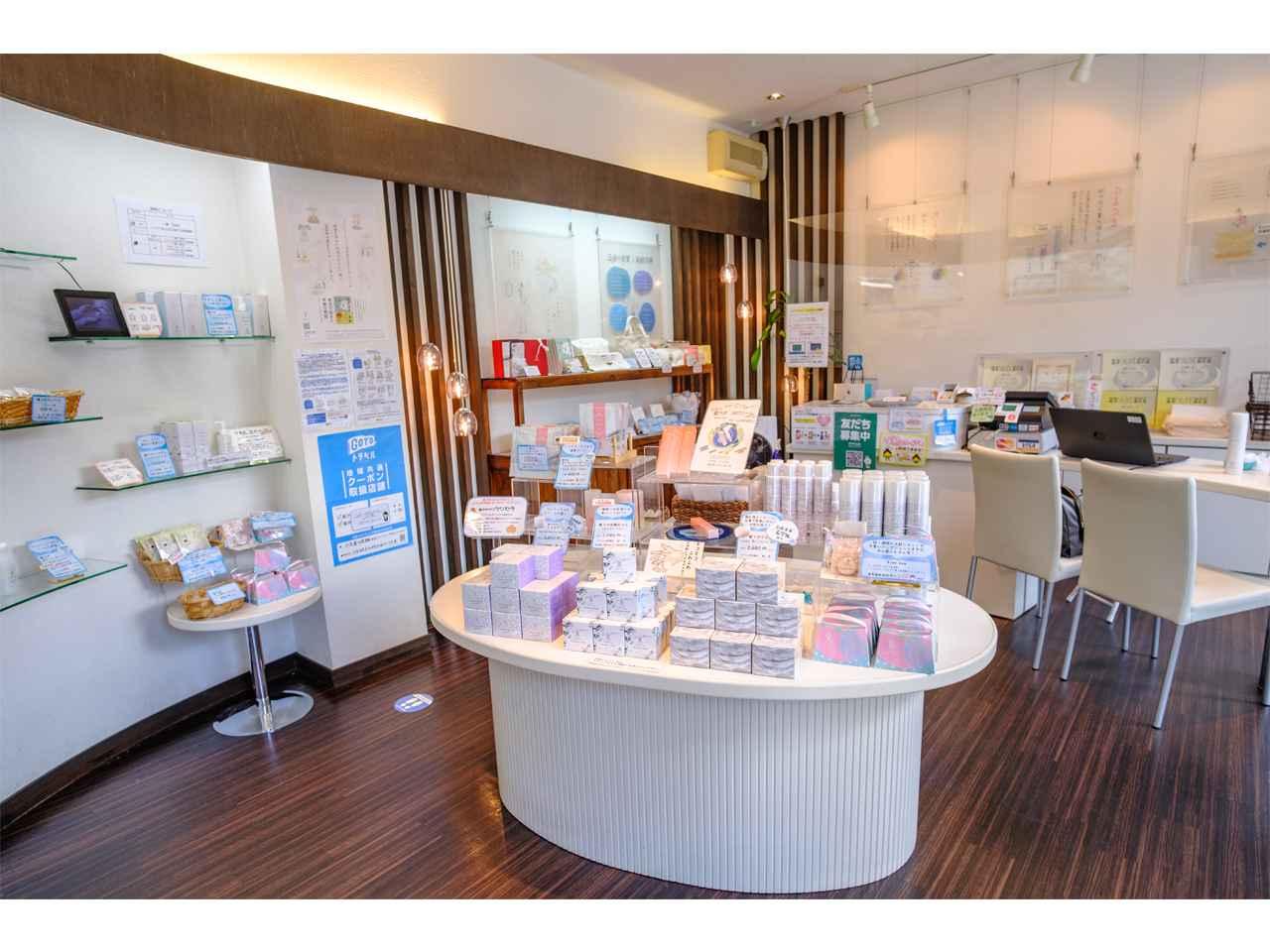 画像: 店内ではじっくりと商品の説明を聞きながらお買い物ができます。