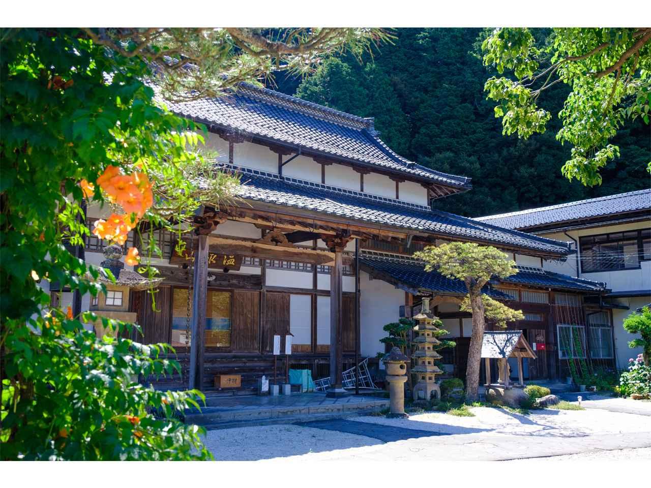 画像: 玉造温泉にある温泉山清巌寺。