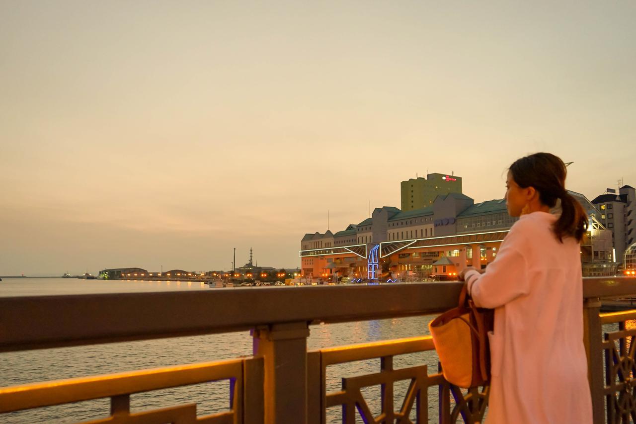 画像3: 異国情緒あふれる釧路、幣舞橋から眺める夕景