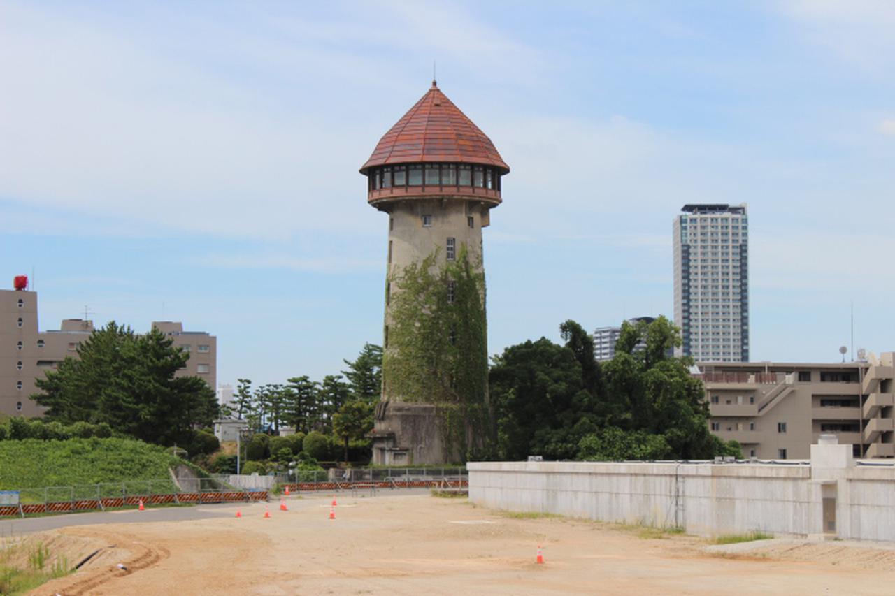 画像: 覚王山のランドマーク「東山給水塔」