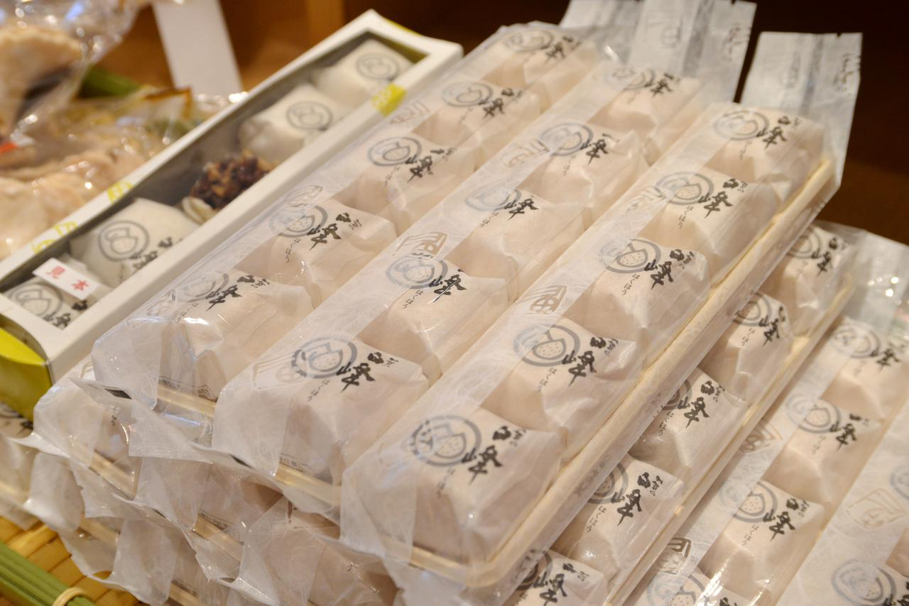 画像: 「加賀の白峰」(5個入り 648円・税込)