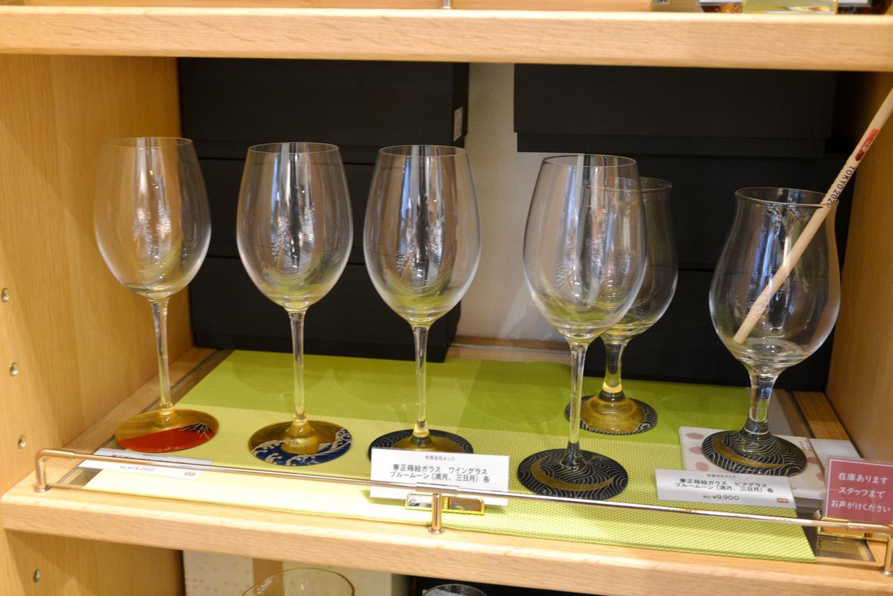 画像: ビアグラス各種9,900円(税込)、ワイングラス各種13,200円~(税込)