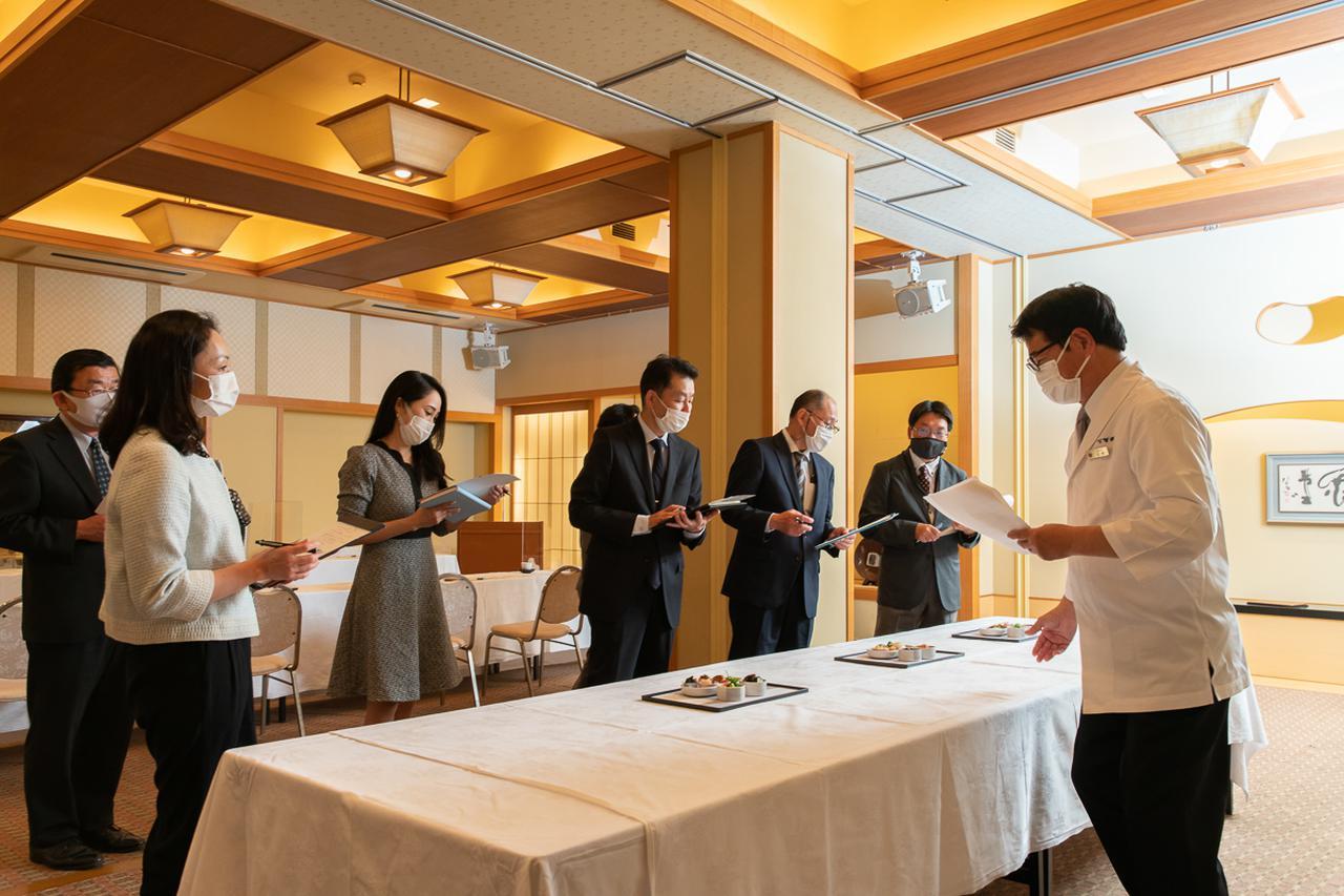 画像4: 島根の食文化と歴史を鮮やかに盛り込んだ、機内食の提案会