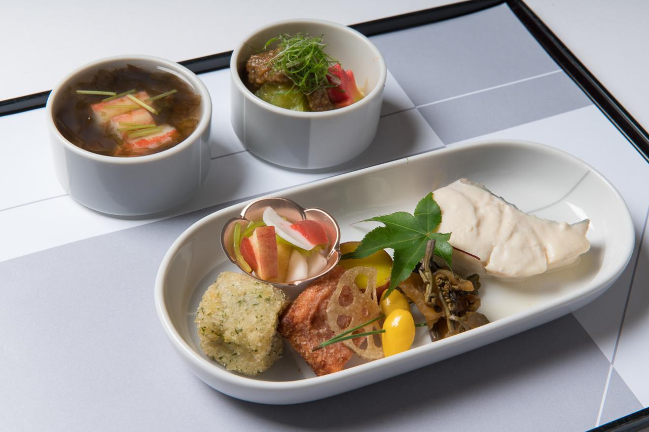 画像2: 島根の食文化と歴史を鮮やかに盛り込んだ、機内食の提案会