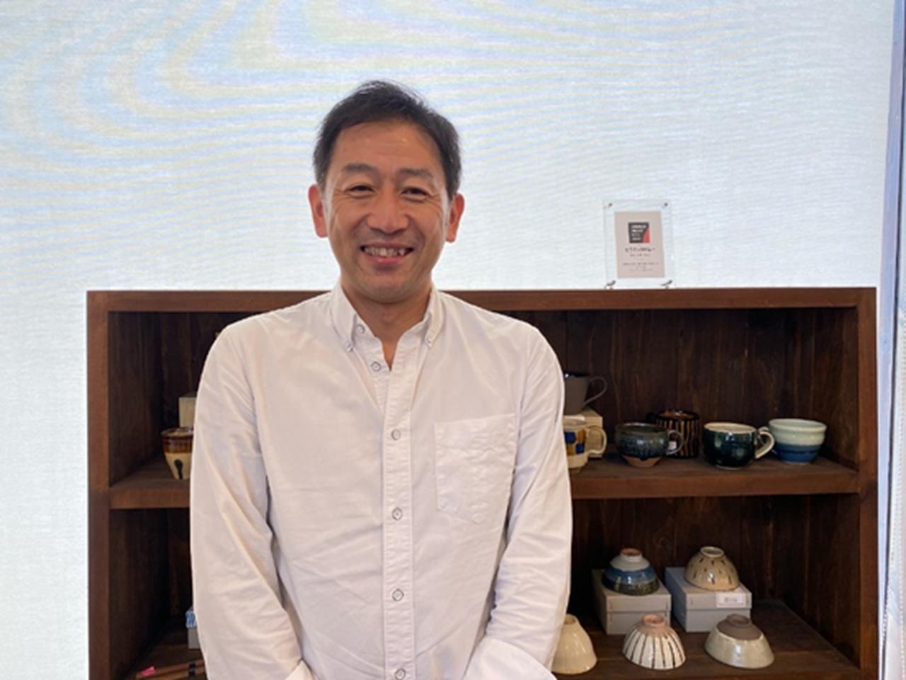 画像: セラミックバレー協議会 チーフマネージャー 井澤さん