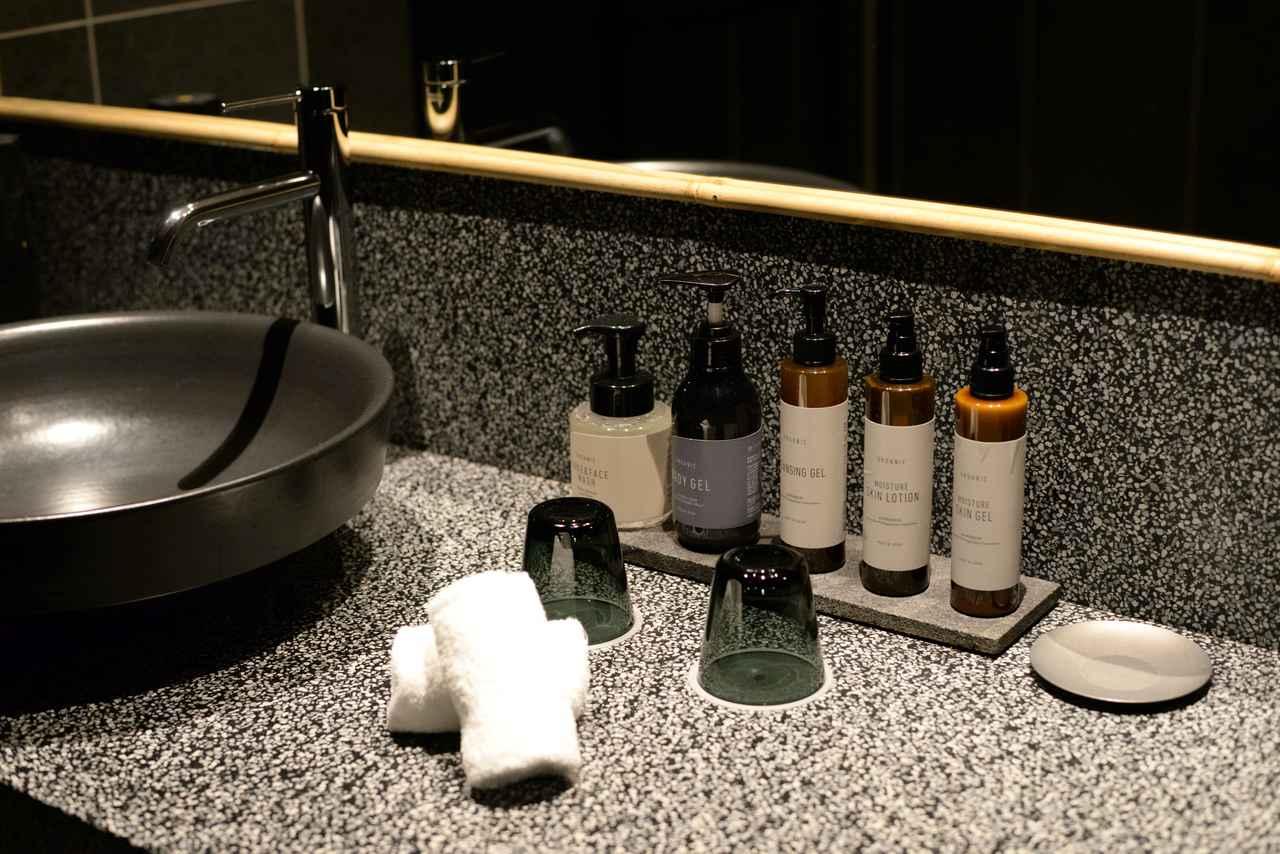 画像1: アメニティでも奈良を感じさせる、香りの仕掛け