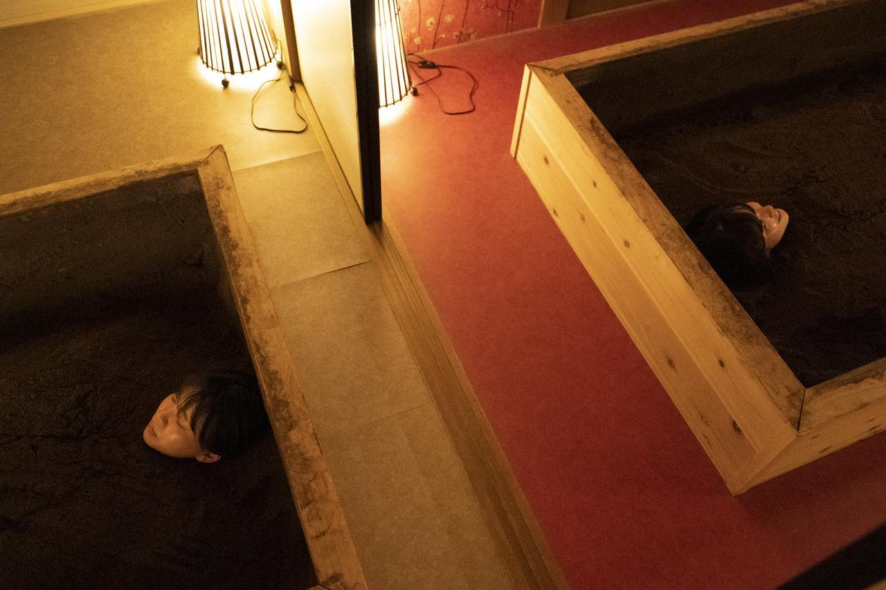 画像1: 「米ぬか発酵風呂 haccola 神楽坂本店」でおしゃべりしながら酵素浴