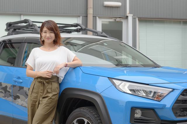 画像: RADIO TEST DRIVE/今井優杏さんによるトヨタの新型SUV「RAV4」の試乗インプレッション