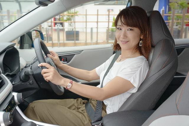 画像1: RADIO TEST DRIVE/今井優杏さんによるトヨタの新型SUV「RAV4」の試乗インプレッション後編