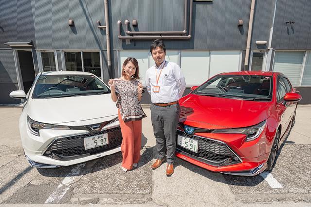 画像1: RADIO TEST DRIVE/今井優杏さんによるトヨタのカローラ スポーツの試乗インプレッション ターボガソリン車編