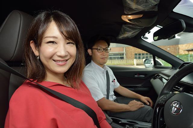画像2: RADIO TEST DRIVE/今井優杏さんによるトヨタのC-HR試乗インプレッション ガソリン車編