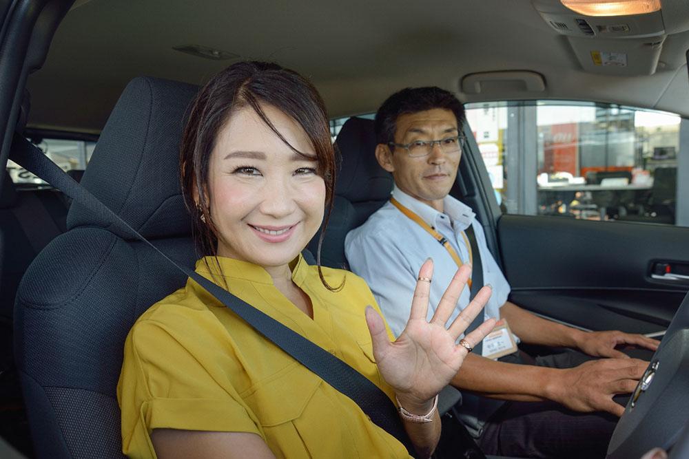 画像2: RADIO TEST DRIVE/今井優杏さんによるトヨタの新型カローラ 試乗インプレッション後編