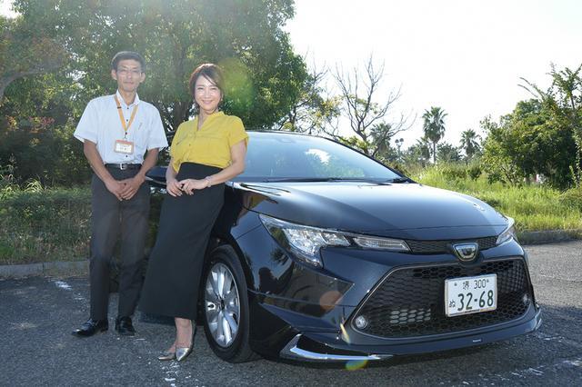 画像1: RADIO TEST DRIVE/今井優杏さんによるトヨタの新型カローラ 試乗インプレッション後編