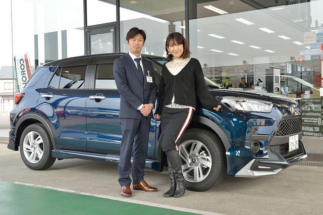 画像1: RADIO TEST DRIVE/今井優杏さんによるトヨタの新型SUV ライズ試乗インプレッション前編