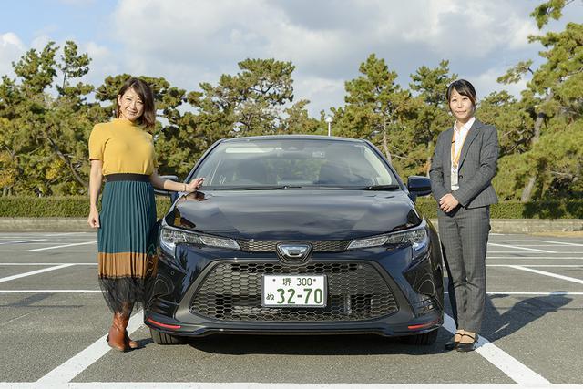 画像1: RADIO TEST DRIVE/今井優杏さんによるトヨタのカローラ セダン試乗インプレッション前編