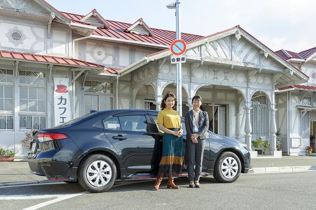 画像1: RADIO TEST DRIVE/今井優杏さんによるトヨタのカローラ セダン試乗インプレッション後編