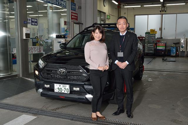 画像1: RADIO TEST DRIVE/今井優杏さんによる トヨタSUV「RAV-4(アドベンチャー)」試乗インプレッション 前編