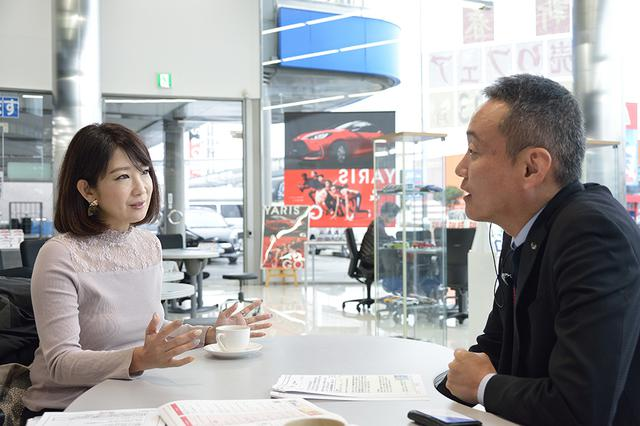 画像2: RADIO TEST DRIVE/今井優杏さんによる トヨタSUV「RAV-4(アドベンチャー)」試乗インプレッション 前編