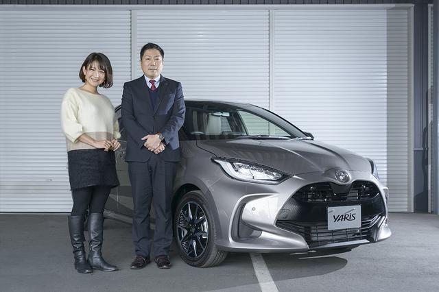 画像1: RADIO TEST DRIVE/今井優杏さんによる 新型「YARIS」インプレッション 前編