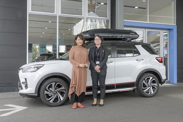 画像1: RADIO TEST DRIVE/今井優杏さんによる 大人気コンパクトSUV「ライズ」試乗インプレッション 前編