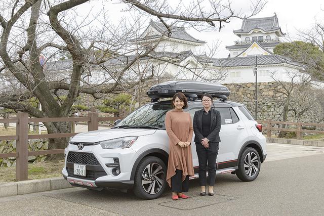 画像1: RADIO TEST DRIVE/今井優杏さんによる 大人気コンパクトSUV「ライズ」試乗インプレッション 後編
