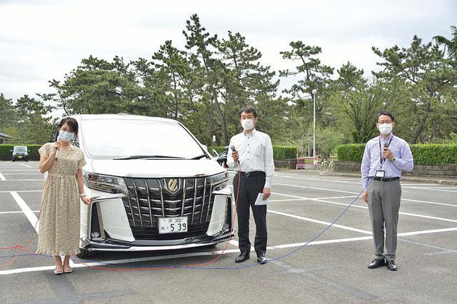 画像1: RADIO TEST DRIVE/今井優杏さんによるLサイズミニバン「アルファード」試乗インプレッション 後編