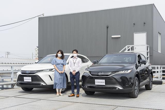 画像1: RADIO TEST DRIVE/今井優杏さんによる新型「ハリアー」試乗インプレッション 前編