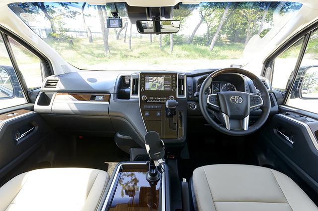 画像10: 今井優杏のRADIO TEST DRIVE/フルサイズ高級ワゴン「グランエース」試乗インプレッション 前編