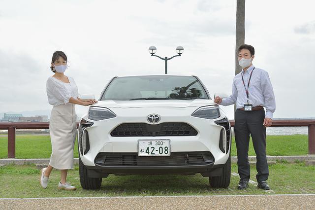 画像1: 今井優杏のRADIO TEST DRIVE / 「ヤリスクロス」試乗インプレッション 後編