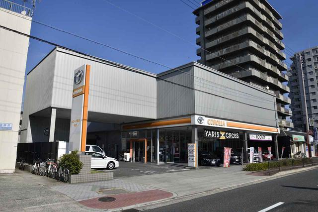 画像: 今週はトヨタカローラ南海  平野店のお邪魔しました!