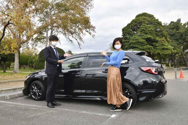 画像1: 今井優杏のRADIO TEST DRIVE/TNGAプラットフォーム採用のカローラツーリングは全世代に嬉しいパッケージ!後半(2020年12月26日UP)