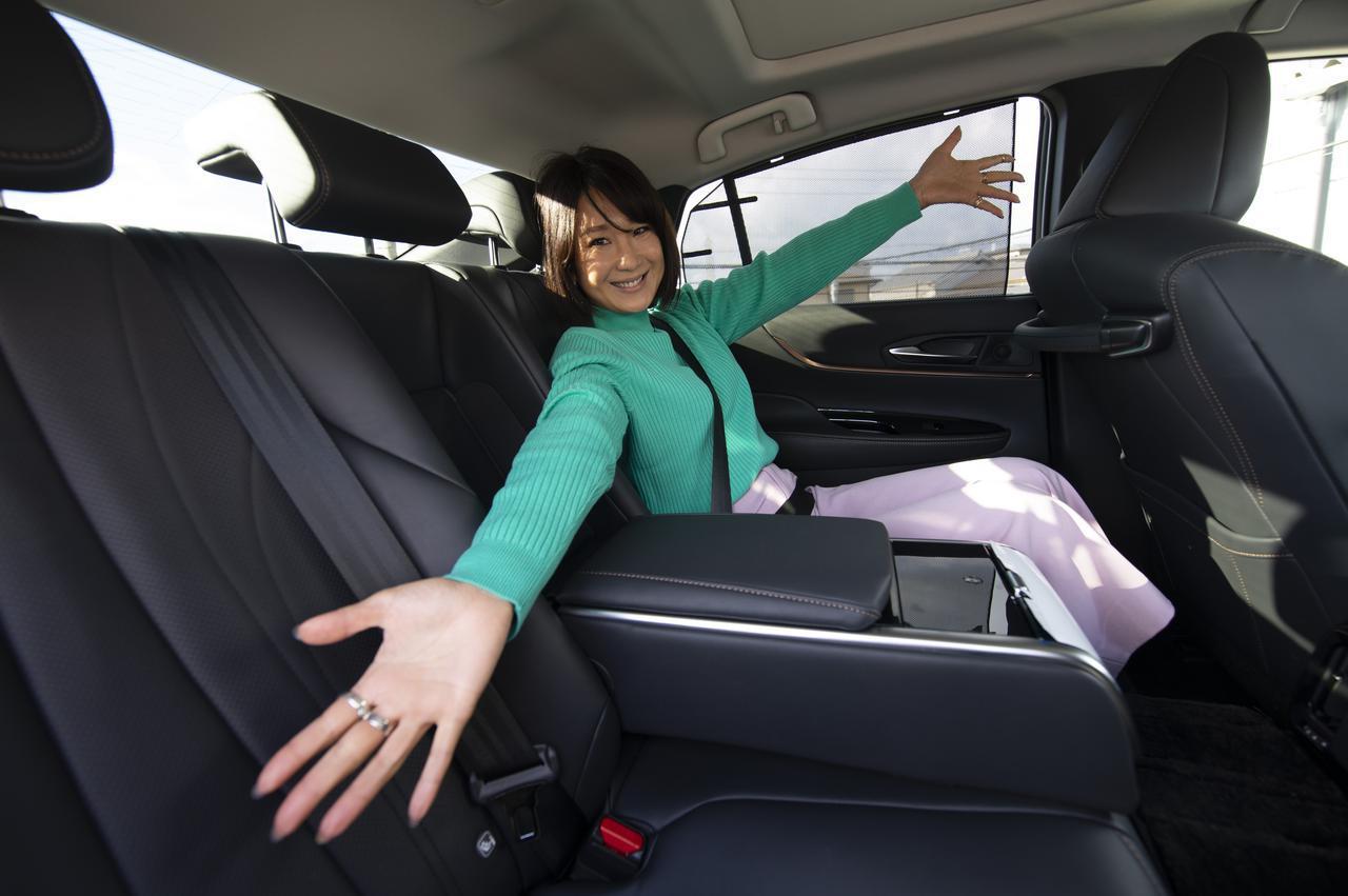 画像: 後部座席も居心地がいい!