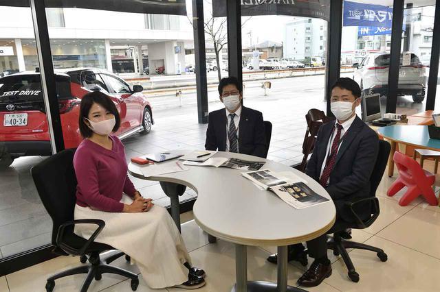 画像1: 今井優杏のRADIO TEST DRIVE/トヨタで一番大きいミニバン「グランエース」は走りも乗り心地もプレミアム!前半(2021年1月16日UP)