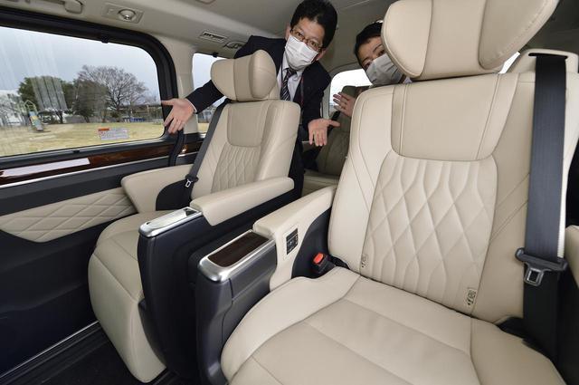 画像1: 今井優杏のRADIO TEST DRIVE/トヨタで一番大きいミニバン「グランエース」は走りも乗り心地もプレミアム!後半(2021年1月23日UP)