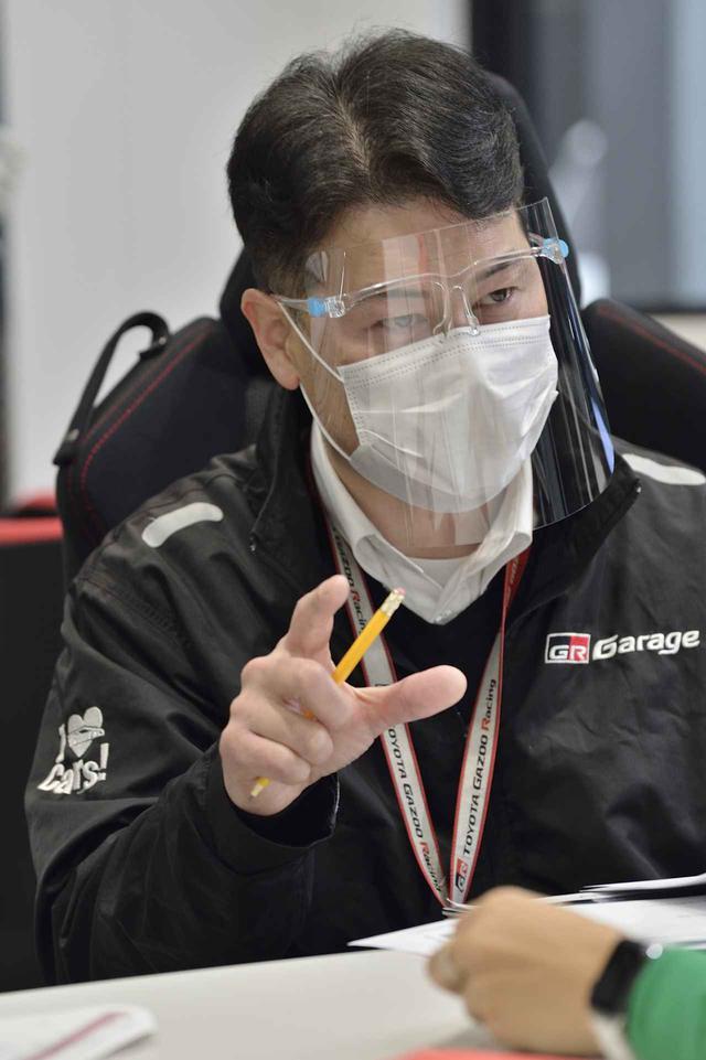画像: 熱く語ってくれる川口さん。素敵です。