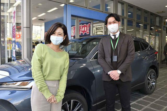 画像: 今週もお話を伺ったのはネッツトヨタ南海 きたはなだ店の岩井さんです。