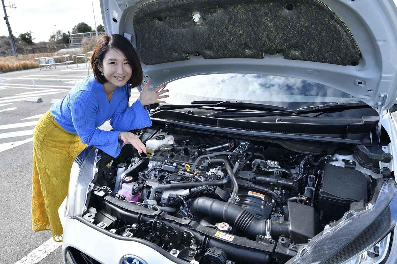 画像: 驚愕の燃費はこのエンジンから。