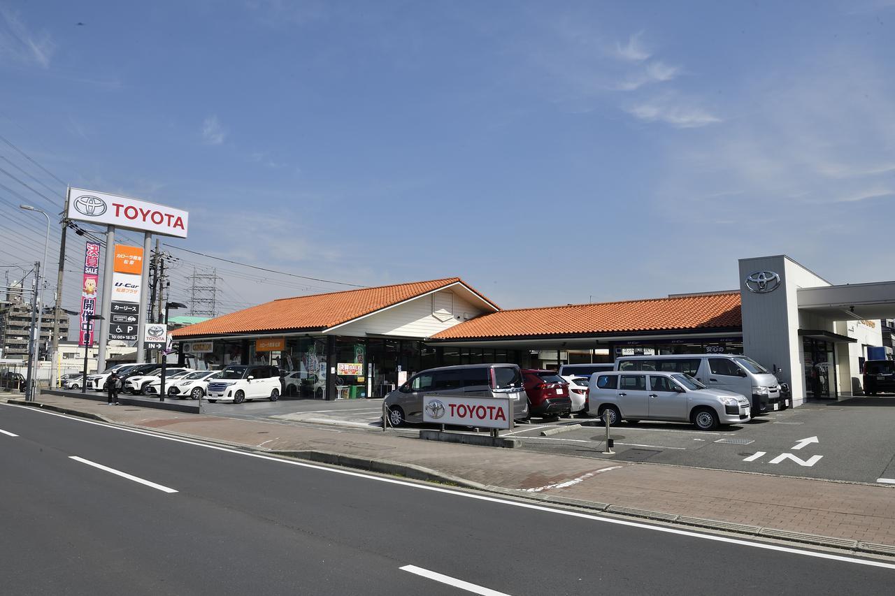 画像: お伺いしたのはトヨタカローラ南海 松原店です。