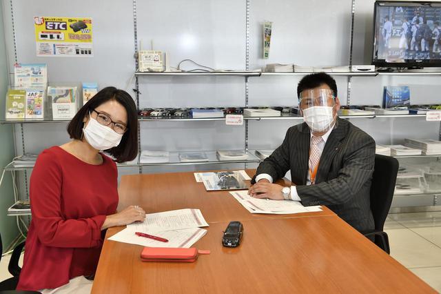 画像: お話を伺ったのはアドバイザーの米井さんです。